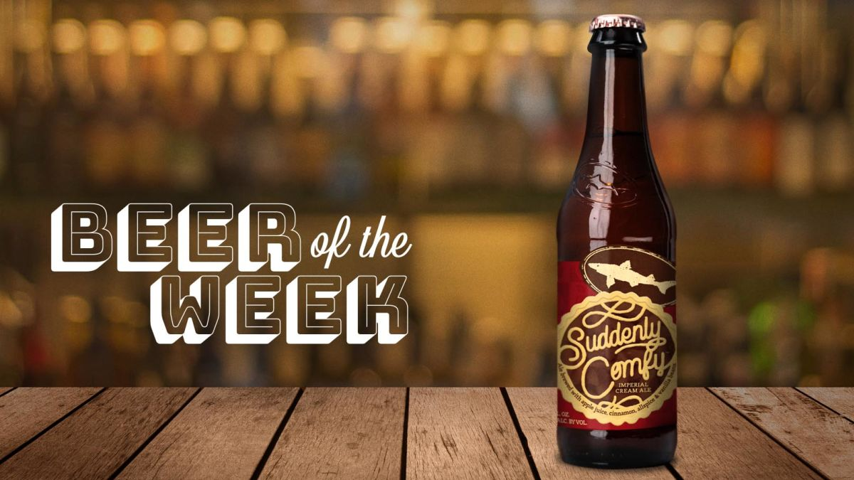 Beer Of The Week: Dogfish Head Suddenly Comfy Is Apple Cobbler In A Glass photo