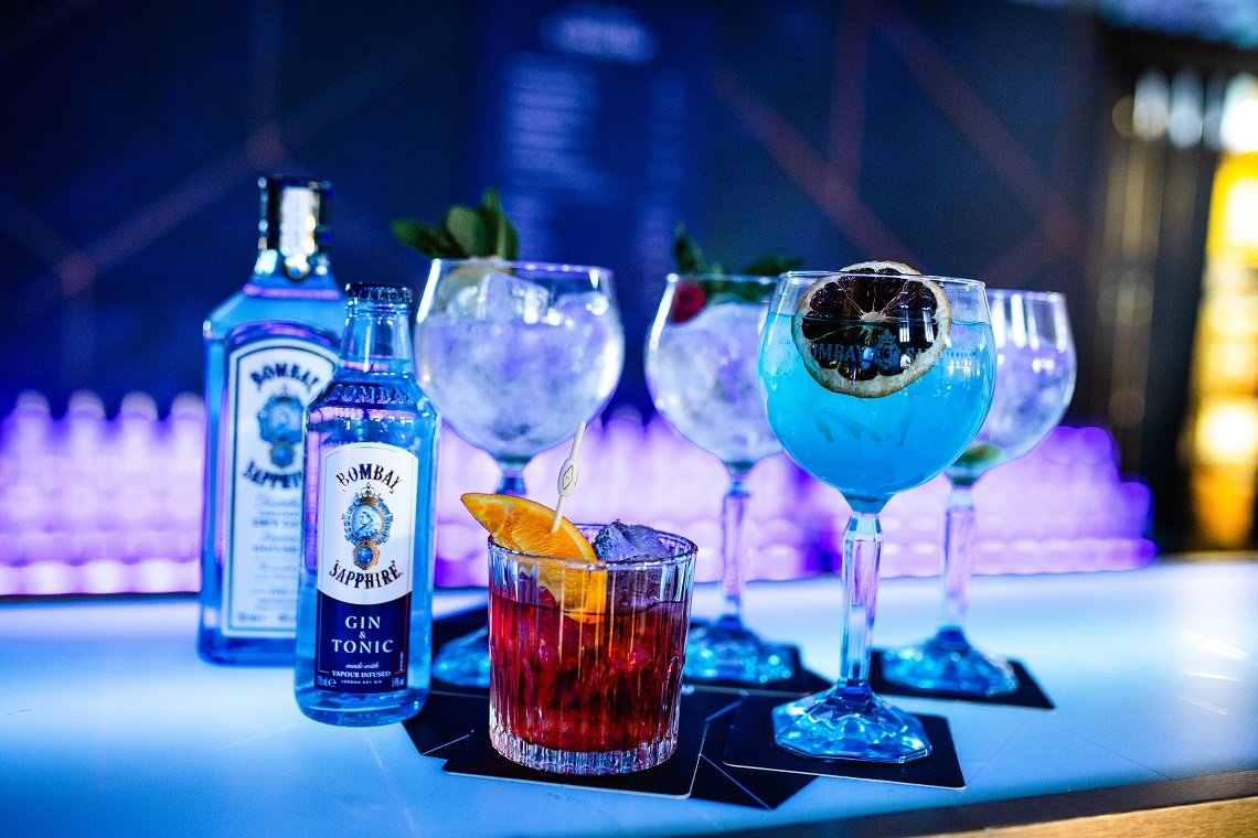 In Pictures: The Bombay Sapphire Canvas Bar At Liveworks photo