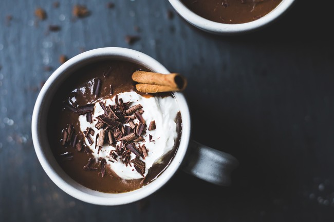 lindt excellence recipe hot chocolate three ways triple spice Best Drinks To Stay Awake All Night