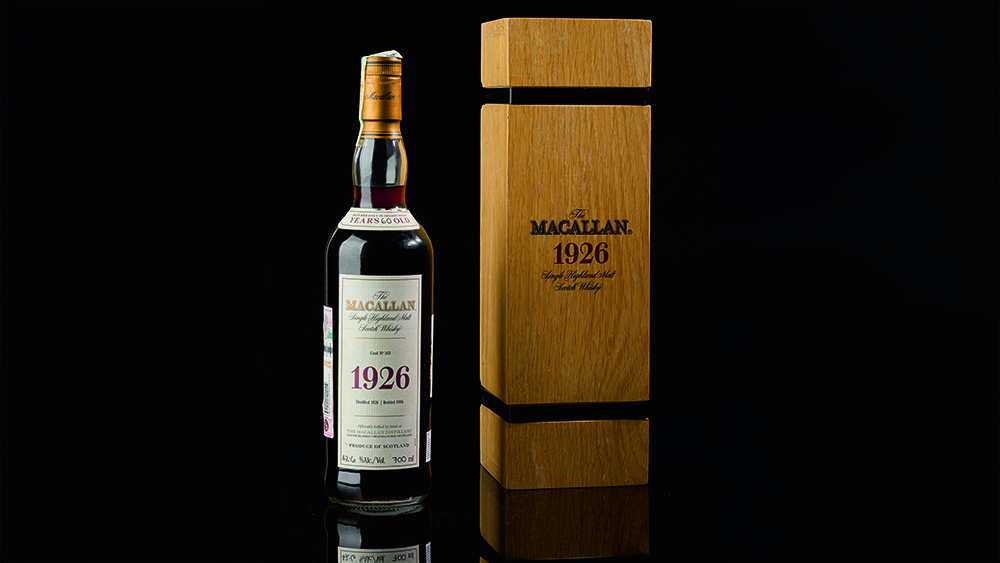 A Macallan 1926 60-year-old Boosts Sotheby?s Robust $10 Million Whisky Sale To 2 New Records photo