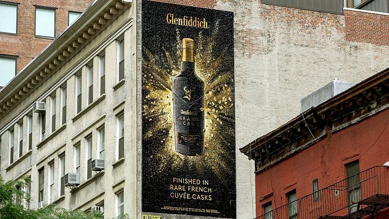 Glenfiddich Launches Grand Cru Us Ad Campaign By Space photo