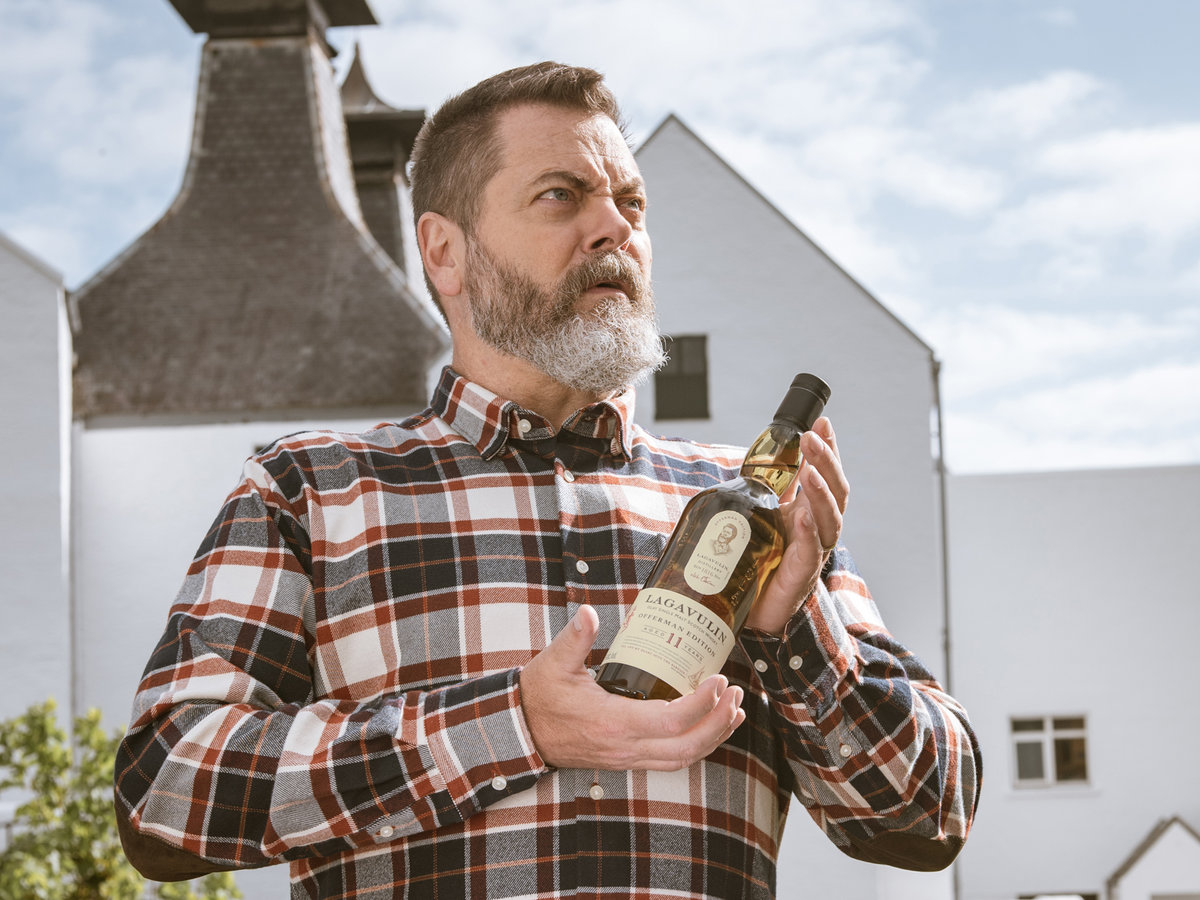 Nick Offerman Is Getting His Own Scotch Courtesy Of Lagavulin photo