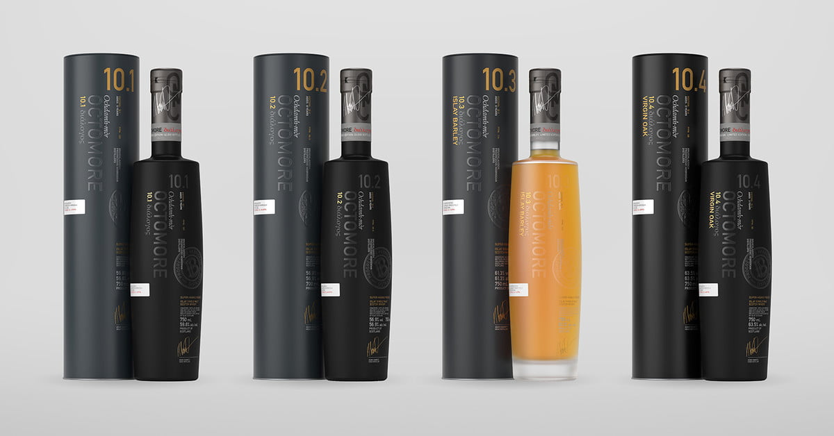 Bruichladdich Distillery Unveils Its New Octomore Scotch Whisky Series photo
