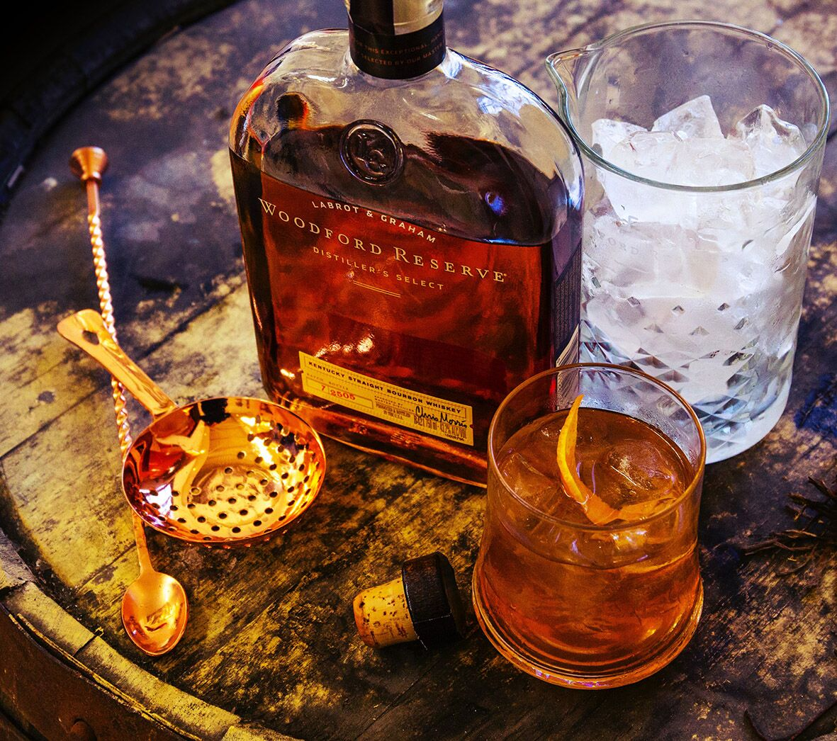 Celebrate Old Fashioned Week With Bourbon To Inspire The Senses