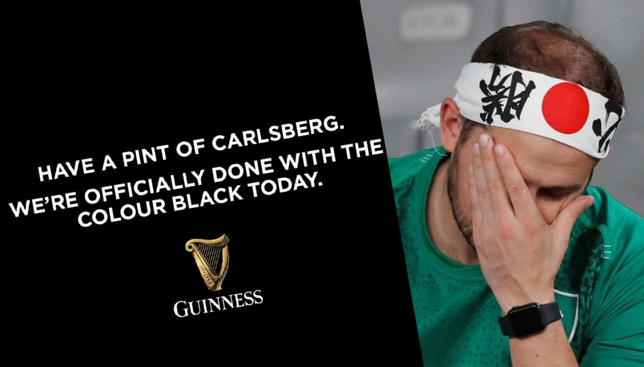 Guinness 'officially Done With The Colour Black', Tells Fans To Drink Carlsberg Instead photo