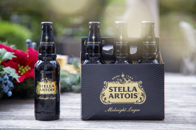 Anheuser-busch To Release Stella Artois Midnight Lager photo