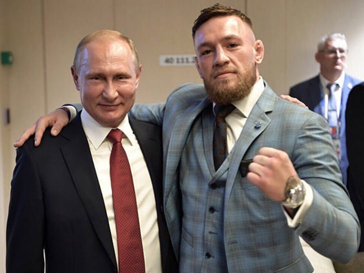 Russian President Vladimir Putin Tested UFC superstar Conor McGregor Gifted Whisky For Poison photo