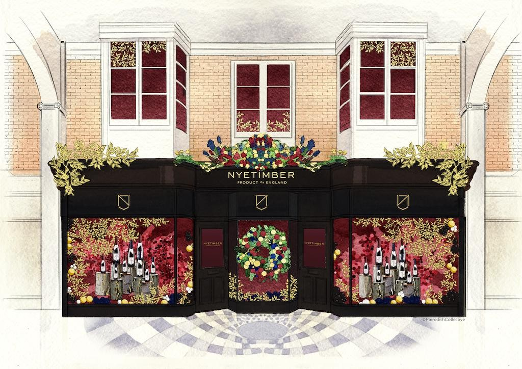 Nyetimber: Nyetimber Boutique By Meredith Collective photo