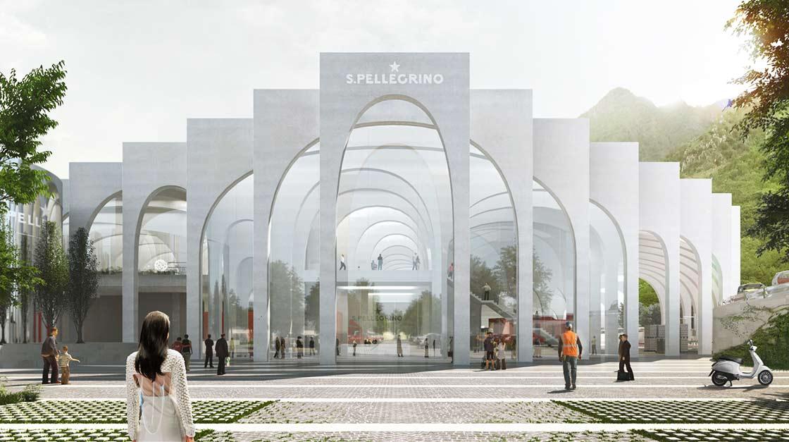 Work Begins On Bjarke Ingels Designed San Pellegrino Factory In Italy photo