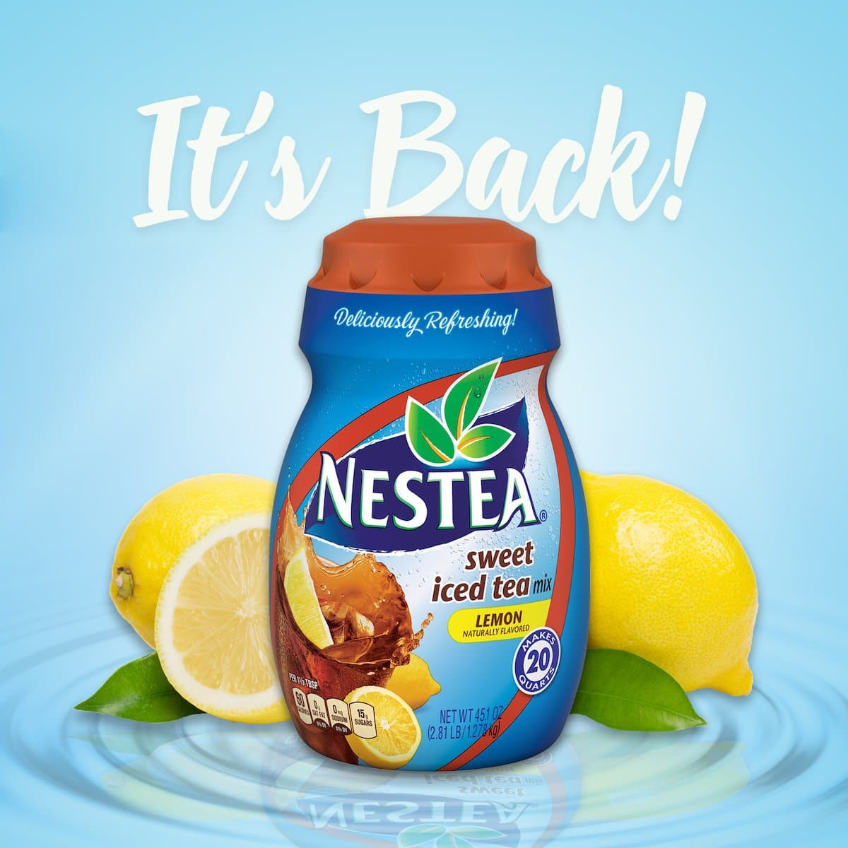 New Age Expands Partnership With Nestle S.a. To Relaunch Nestea Powdered Tea photo