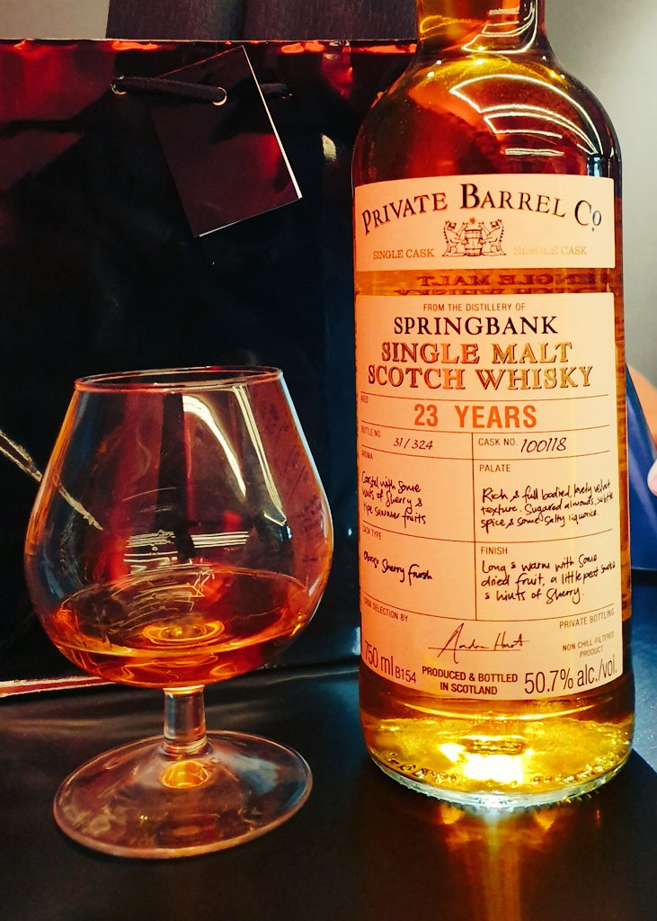 Rare Springbank whisky joins exclusive Private Barrel Co. range photo