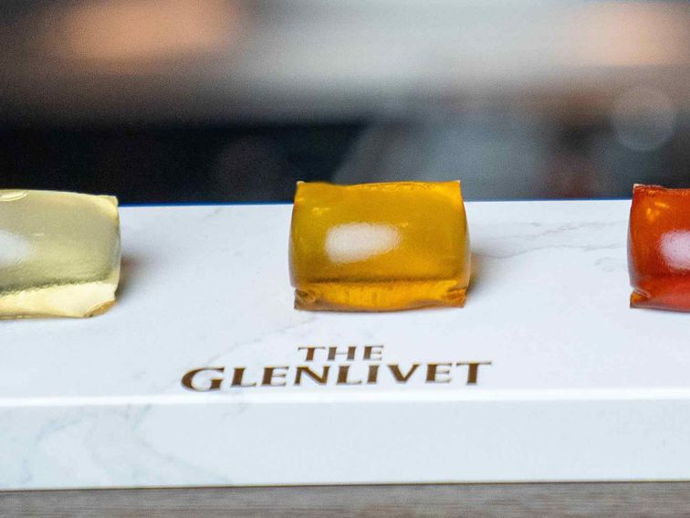 Glenlivet Seaweed Capsules Look Like Whisky-filled Tide Pods photo