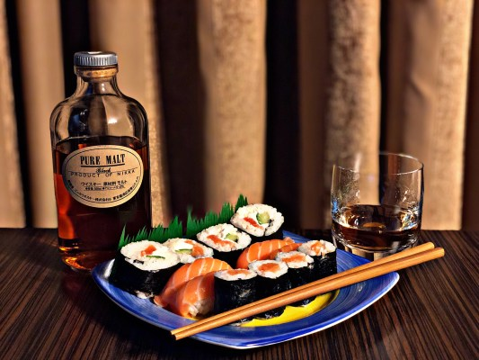 Pairing Whisky With Sushi
