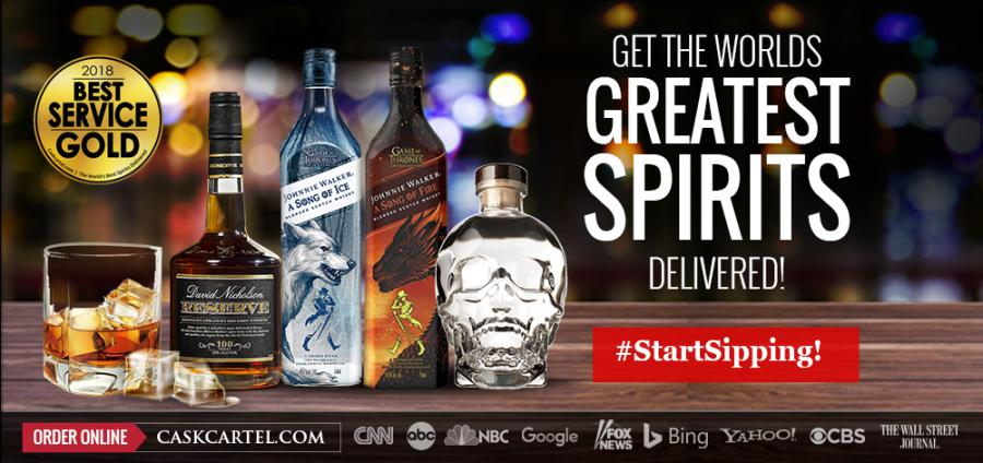 Celebs Are Ordering Crystal Head Vodka, Game Of Thrones Fire & Ice For Their Halloween Party's Purchase photo