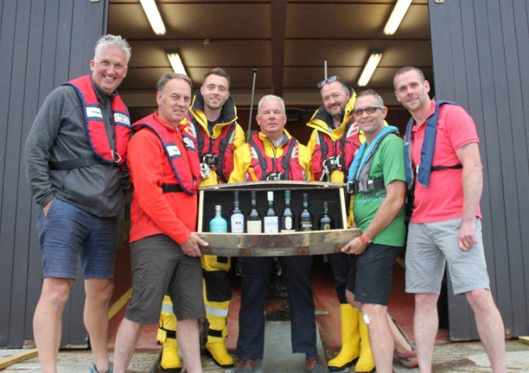 Sailors Do A ?whiskey Run? For Portrush & Islay Lifeboats photo