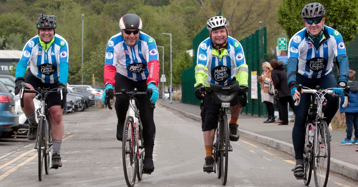 Town's Pedal For Pounds 11 Will Be The Ride Of Yorkshire photo