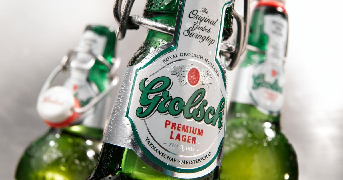 Grolsch Lager Is No Logher Going To Be On Sale In Supermarkets photo