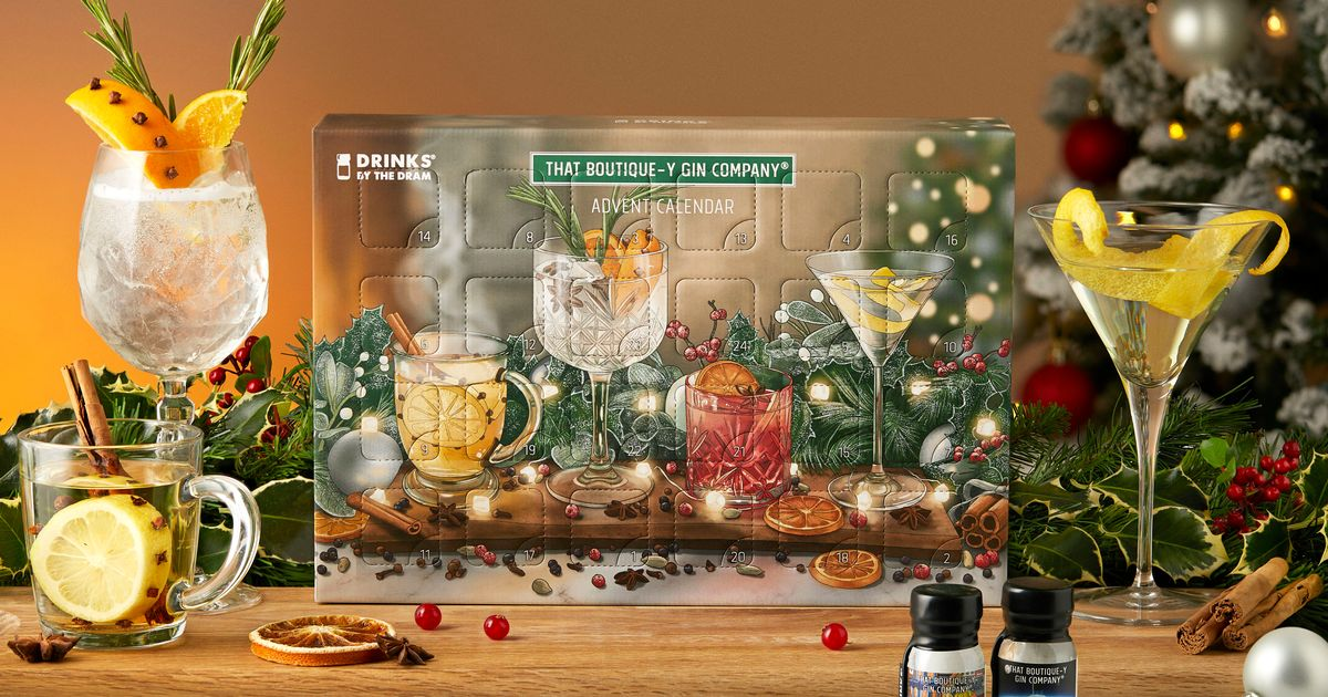 The Best Alcoholic Advent Calendars Costing £50 Or Less photo