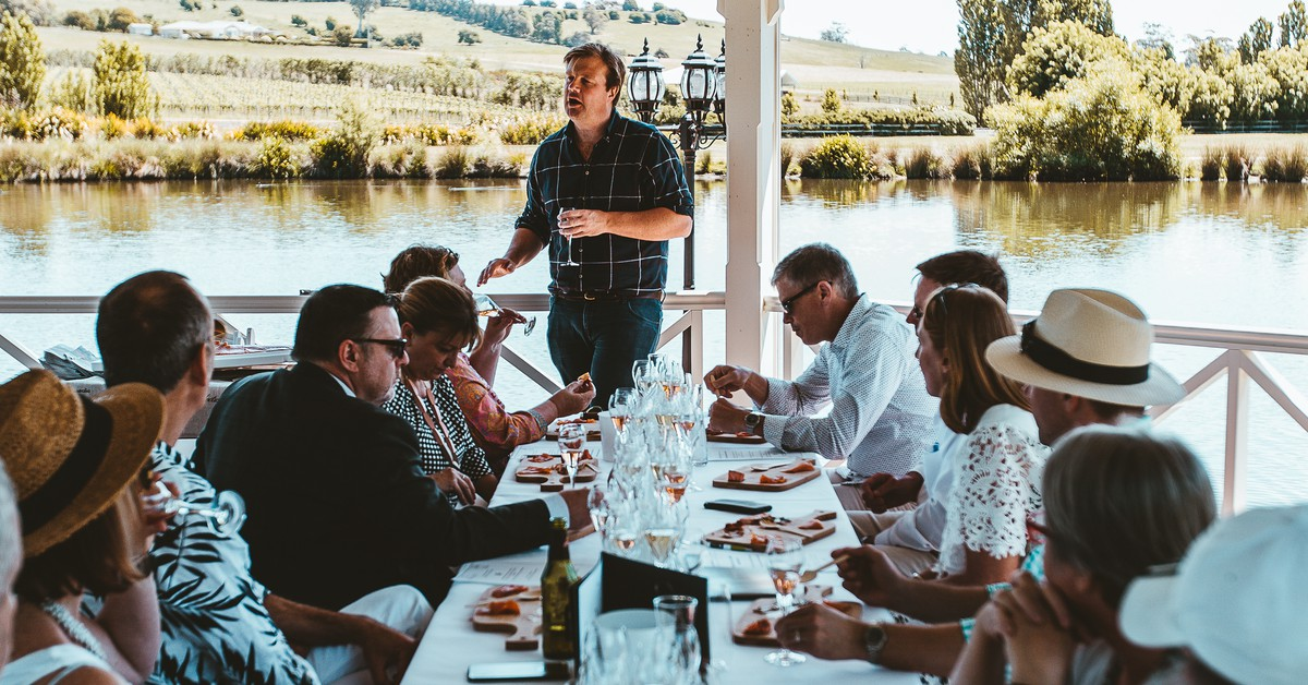 Head South For A Nine-day Festival Devoted To Tasmanian Sparkling Wine This Spring photo
