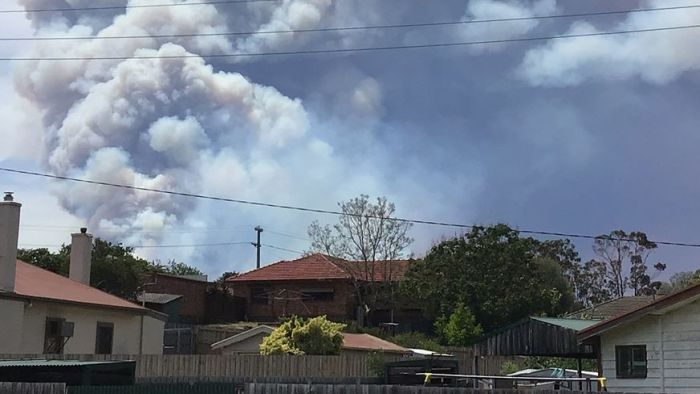 Fires Burning In Victoria's East Are Behaving As If We're In Summer Conditions Already photo