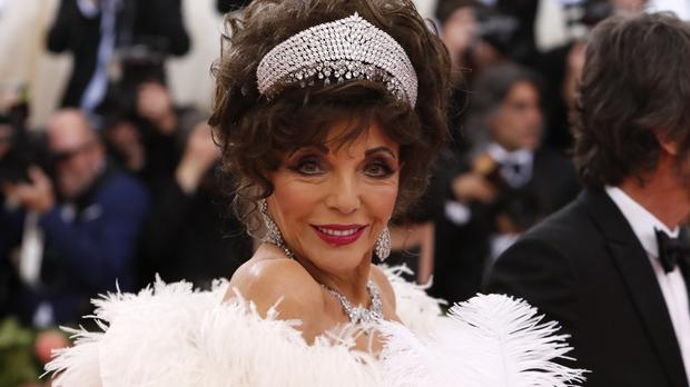 Dame Joan Collins 'hates' Jeans And Wishes People Would 'dress Up' A Little More photo