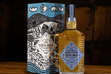 Eden Mill Enlists Artist For Single Malt Packaging Overhaul photo