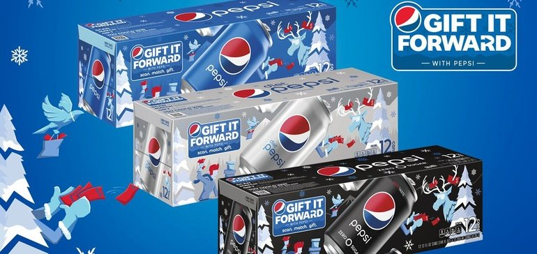 Pepsi Shakes Up Holiday Gift-giving With Mobile Spin On Paying It Forward photo
