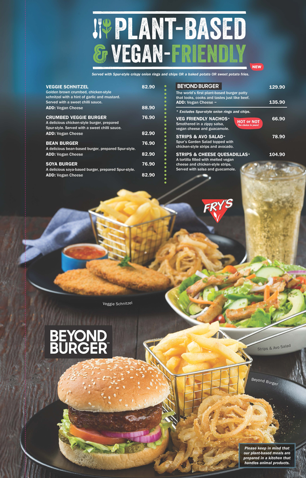 Spur Launches New Vegetarian And Plant-based Menu photo