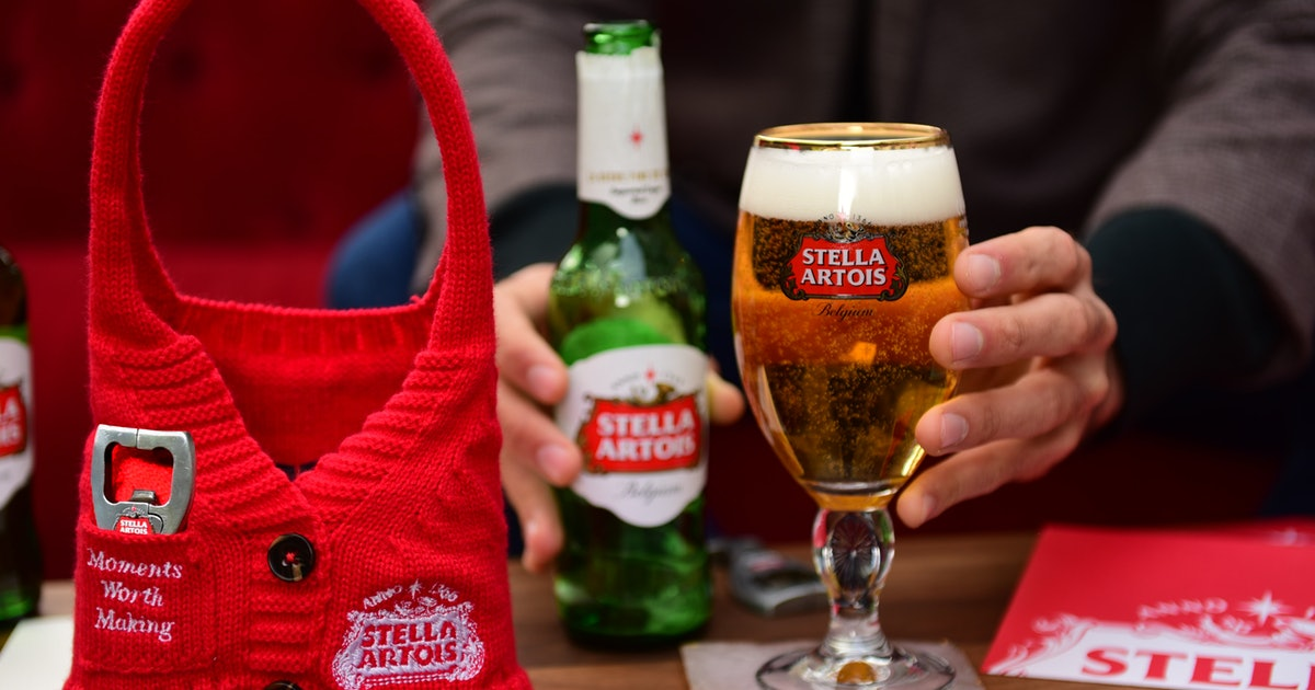 You Can Get Free Beer Thanks To Stella Artois? Holiday Sweater Pack Promotion photo