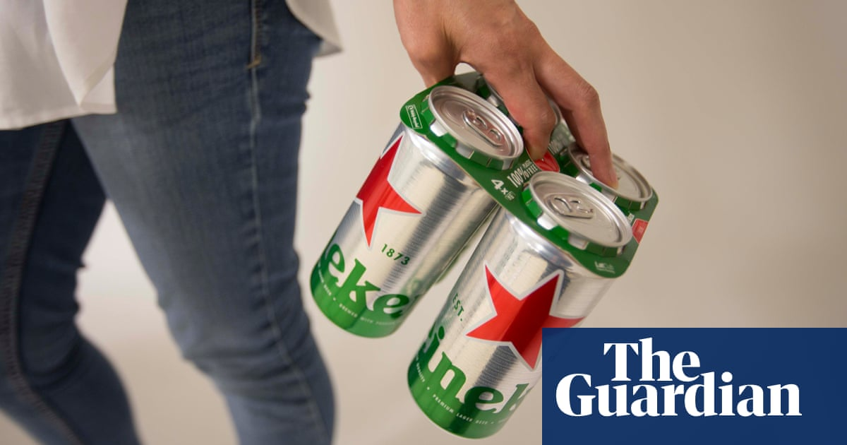 Heineken Ditches Plastic Rings And Shrink Wrap In Eco Makeover photo