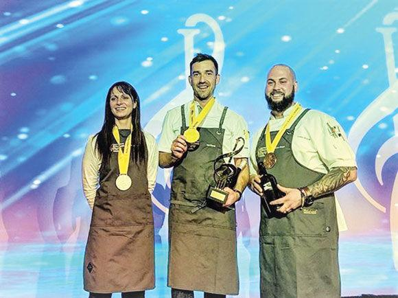 Koroll Wins Regional Chef Contest photo