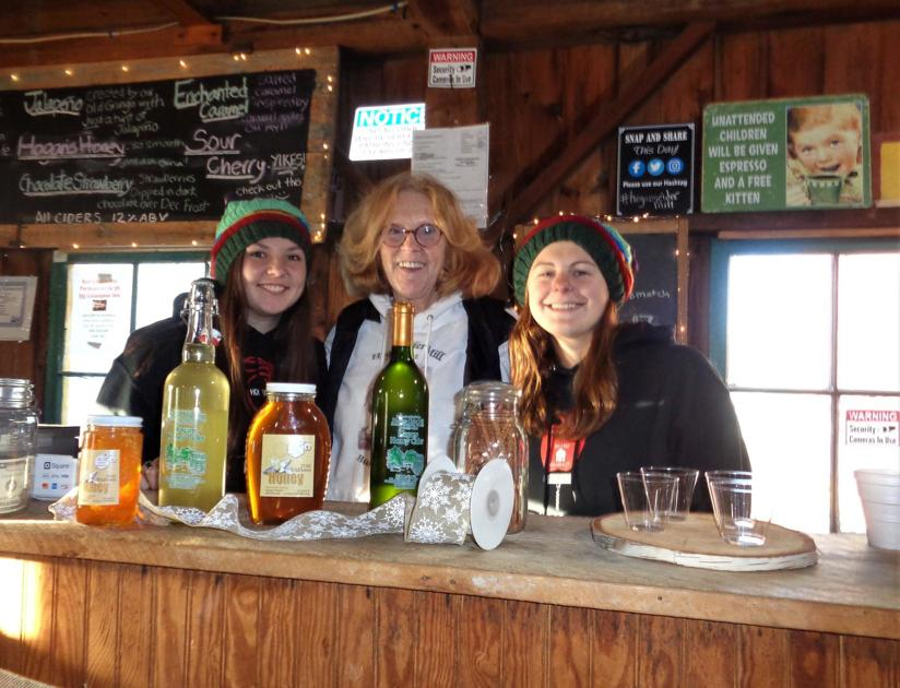 Authentic Hard Cider Served Up Hot Or Cold At Harwinton's Hogan's Cider Mill photo