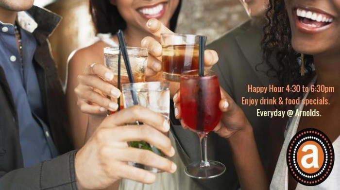 Happy Hour on selected food and drinks items photo