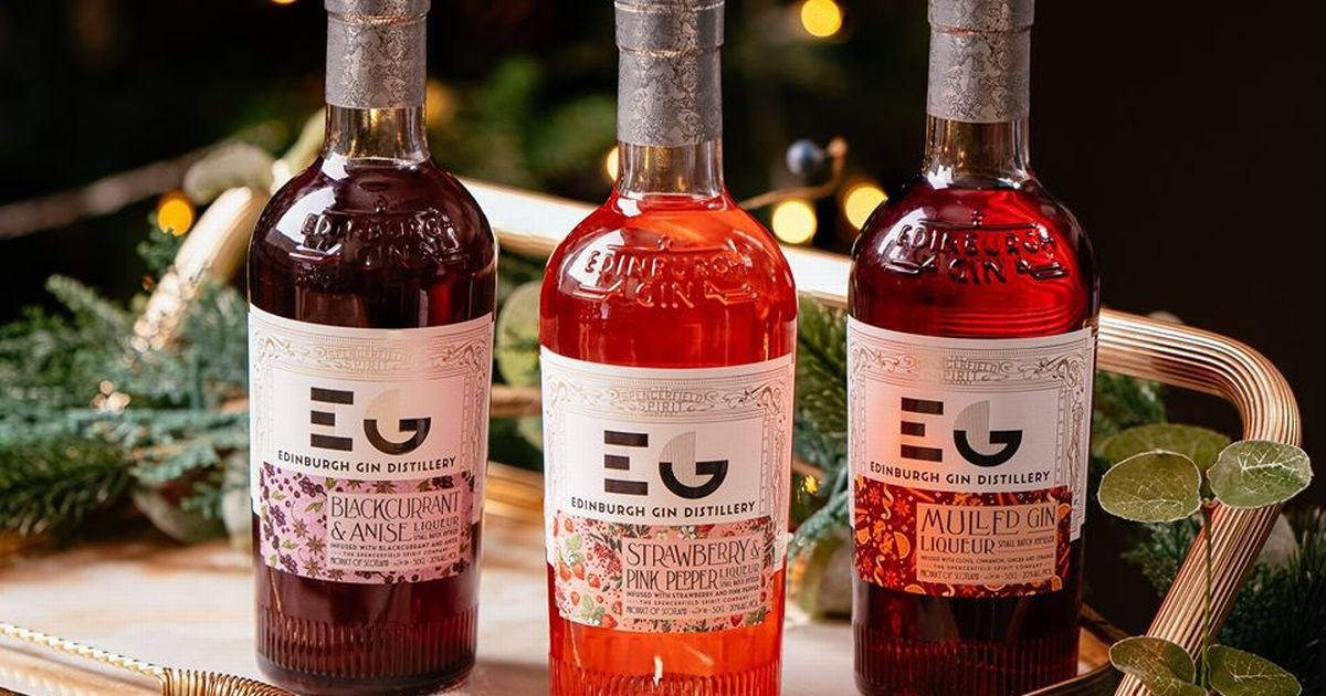 Edinburgh Gin Release Three New Liqueurs With Festive Christmas Flavours photo