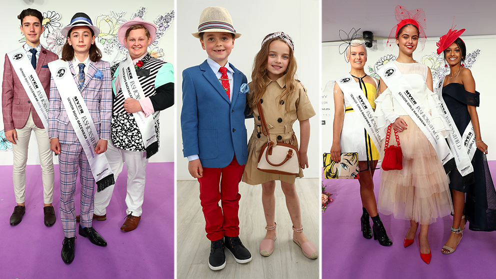 The Most Adorable Moments From The Seppelt Wines Stakes Day Myer Fashions On The Field photo