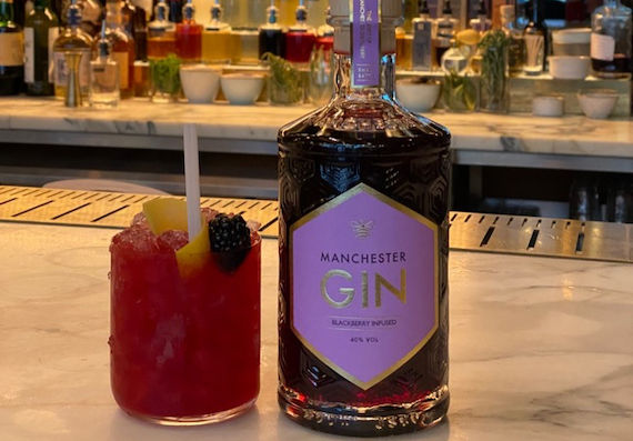 Manchester Gin Launches Blackberry Infused photo