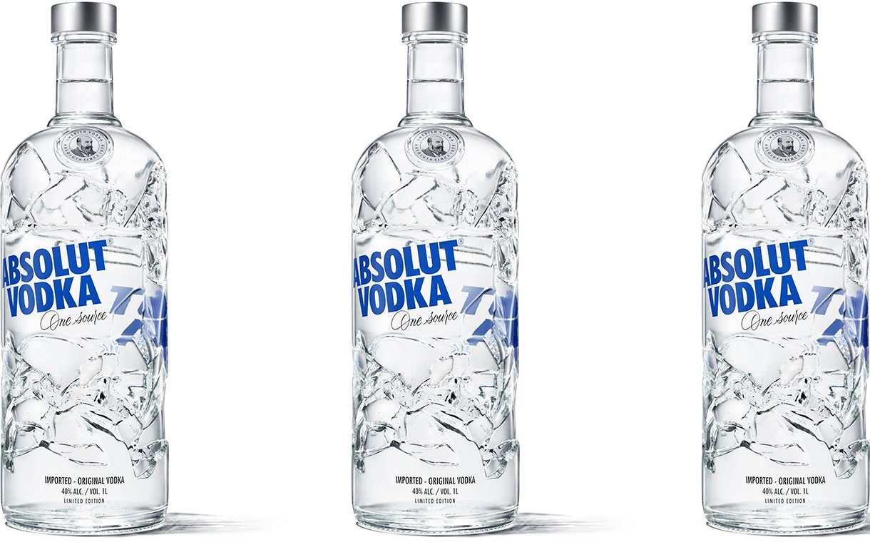 Ardagh Group Creates Absolut Vodka Bottle From Recycled Glass photo