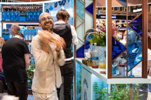 Bacardi Partners With Heinemann Australia For Immersive Bombay Sapphire Summer Campaign At Sydney Airport photo