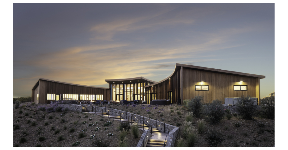 Bouchaine Vineyards Opens Spectacular New Visitor Center photo