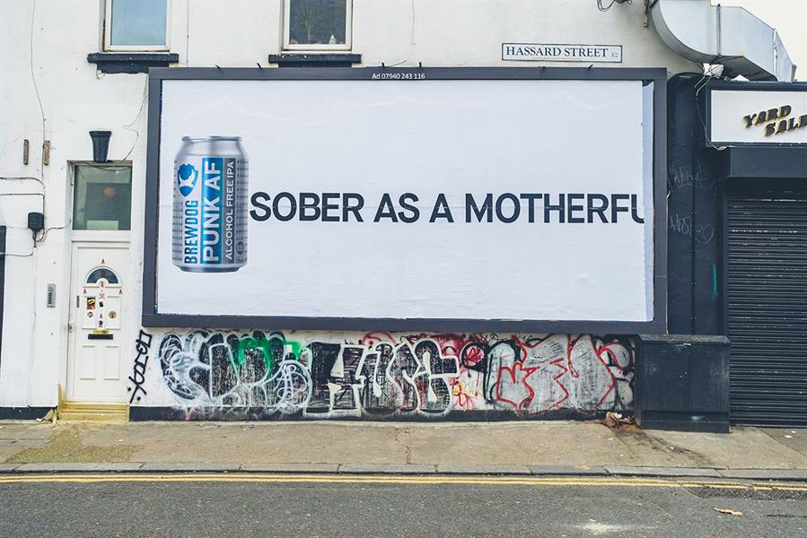 Brewdog's 'sober As A Motherfu' Ads Spark Asa Investigation photo