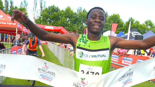 Winelands Marathon Unearths New Talent photo