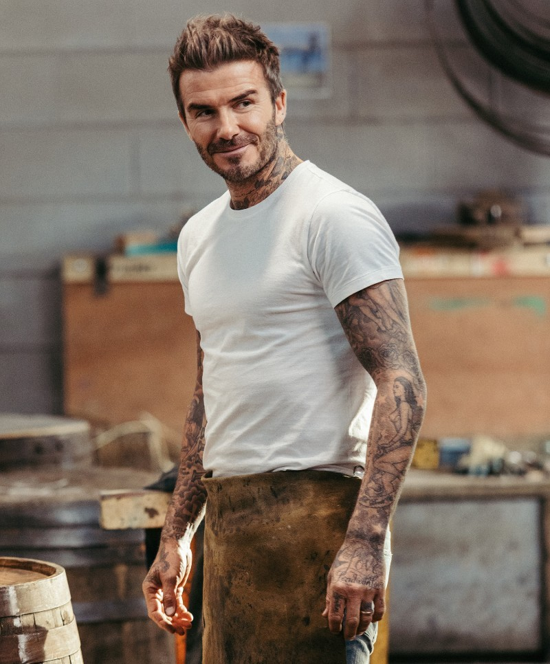 David Beckham at Diageos Cambus Cooperage 28th October 2019 David Beckham Returns To The Home Of Haig Club