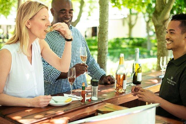 Oyster & Bubbly Happy Hour All Summer At Grande Provence photo