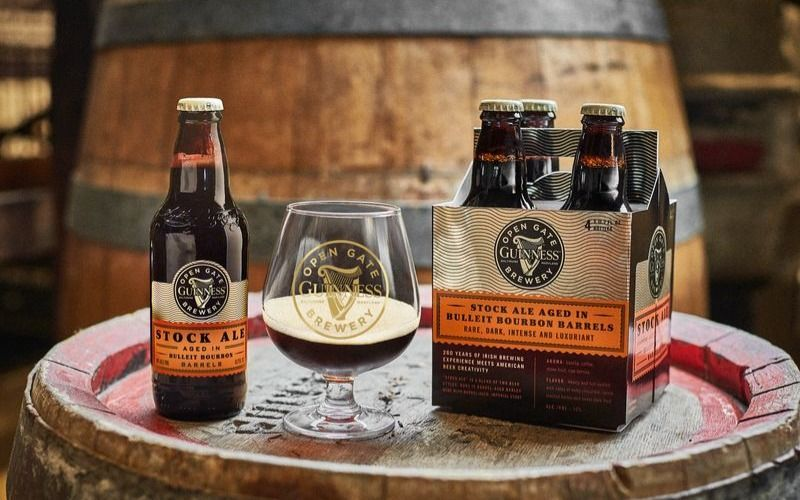 Guinness Stock Ale Aged In Bulleit Bourbon Barrels Is Here! photo