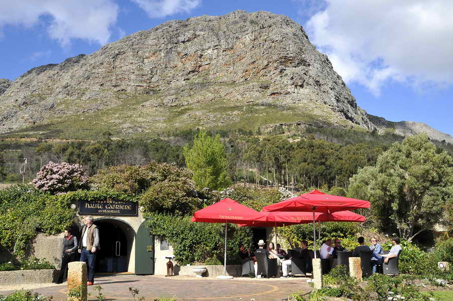 Haute Cabriere before makeover Haute Cabriere Celebrates 25 Years Of Winemaking With A Spectacular Makeover