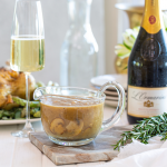 Mushroom Gravy paired with L'Ormarins Brut MCC photo