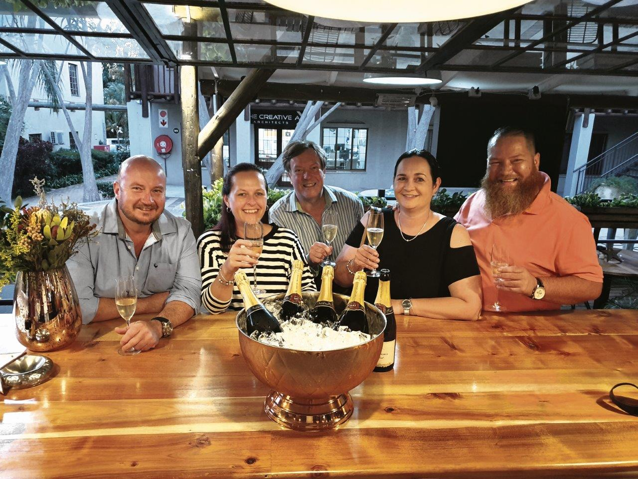 Local Restaurateurs Enjoy Sparkling Evening photo