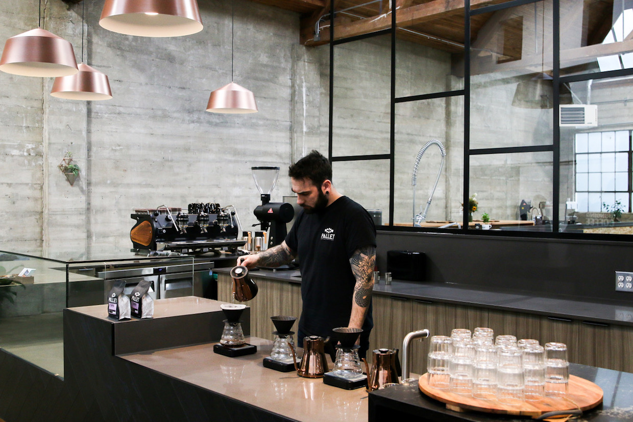 The New Pallet Coffee Roastery And Hq Is Fully Jacked In Vancouver photo