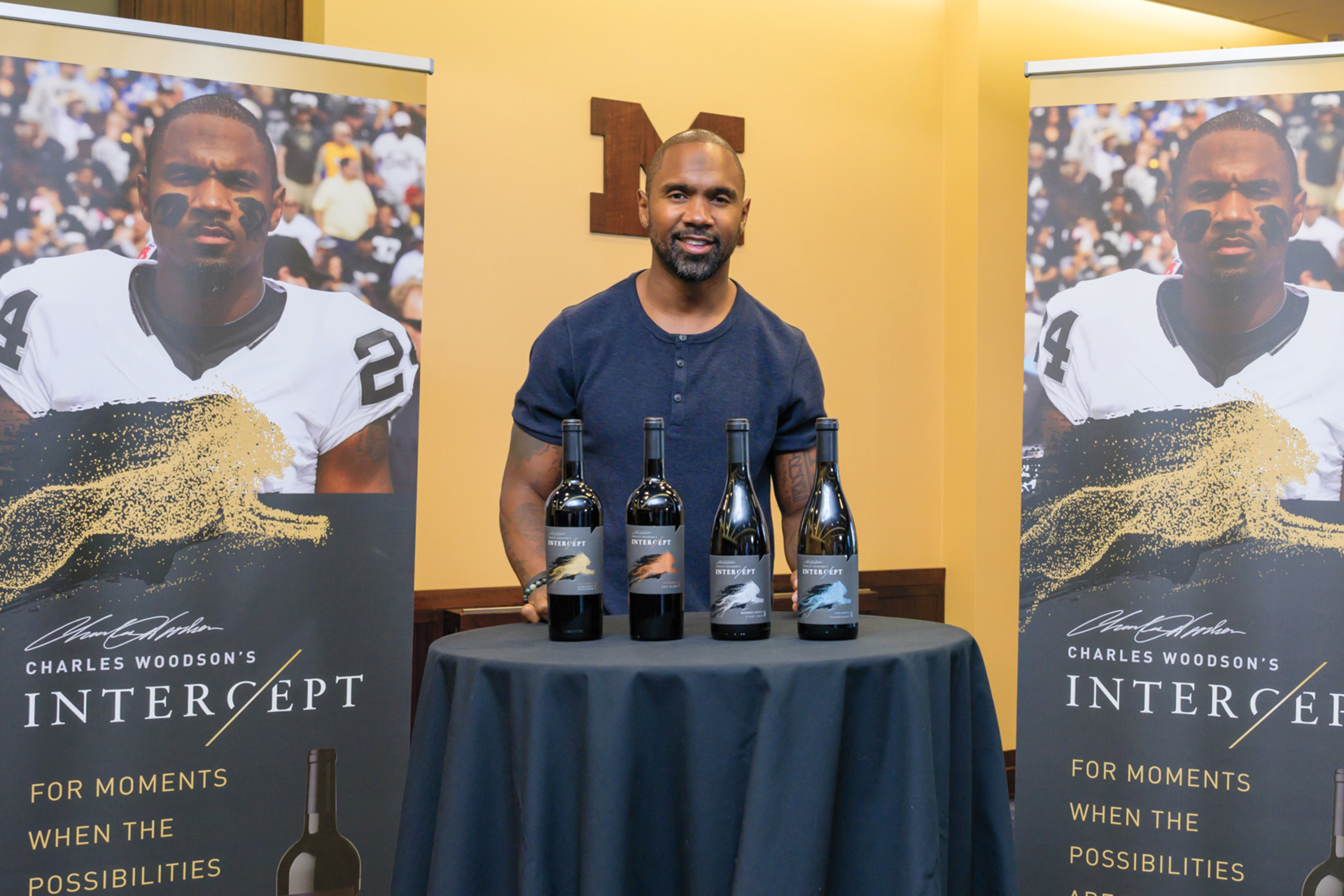 From Cornerback To Cabernet: Ex-nfl Star Charles Woodson On His New Wine Venture photo