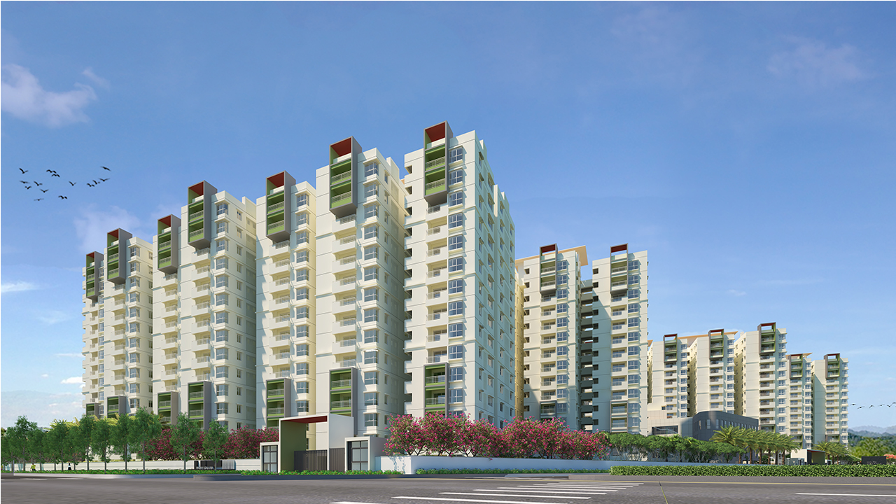 Ramky One Galaxia Phase 2 In Nallagandla Gachibowli Hyderabad photo